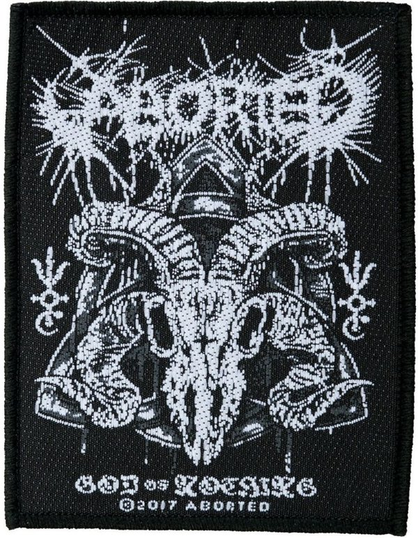Aborted God of Nothing Aufnäher Patch