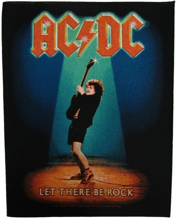 AC/DC Let There Be Rock-Rückenaufnäher-Backpatch