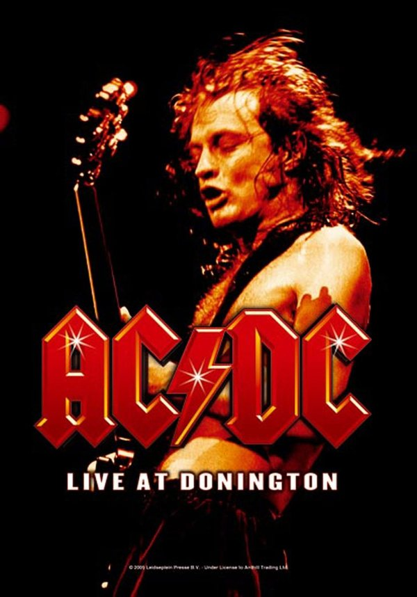 AC/DC- Live at Donington Posterfahne