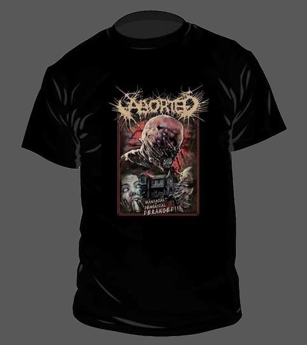 Aborted Deranged T-Shirt NEU & OFFICIAL!