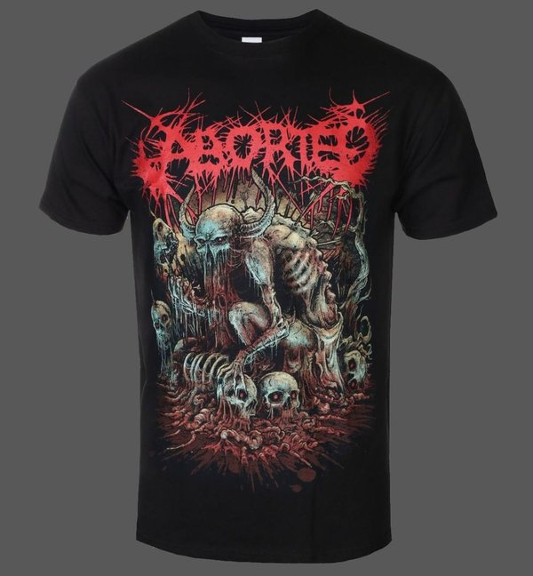 Aborted God Machine T-Shirt NEU & OFFICIAL!