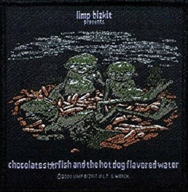 Limp Bizkit Chocolates Starfish Aufnäher Patch