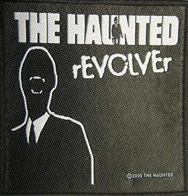 The Haunted Revolver Aufnäher/Patch