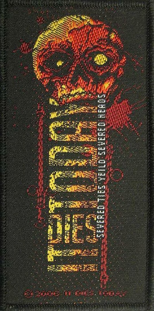 It Dies Today- Served Ties Yield Served Heads Aufnäher Patch