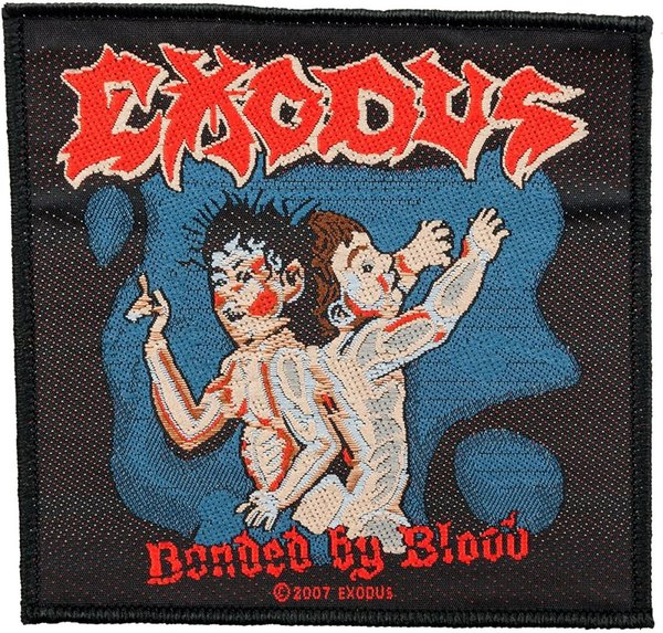 Exodus Bonded By Blood Aufnäher Patch