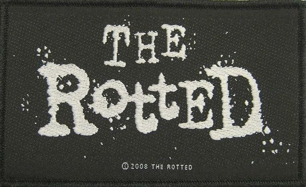 The Rotted Logo Aufnäher Patch