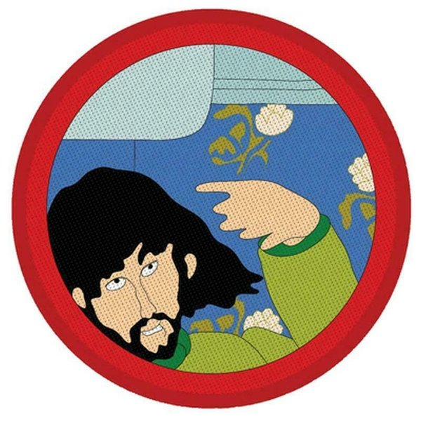 The Beatles Yellow Submarine George Aufnäher Patch