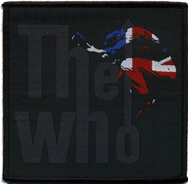 The Who Pete Silhouette Aufnäher Patch