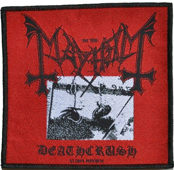 Mayhem Deathcrush Aufnäher Patch