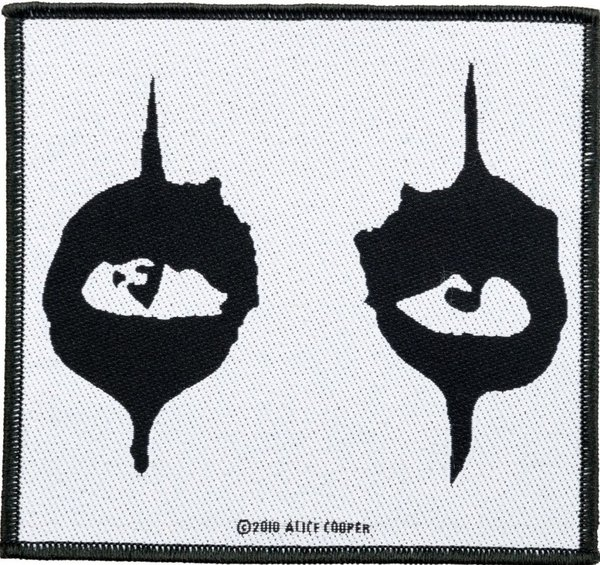 Alice Cooper The Eyes Aufnäher Patch