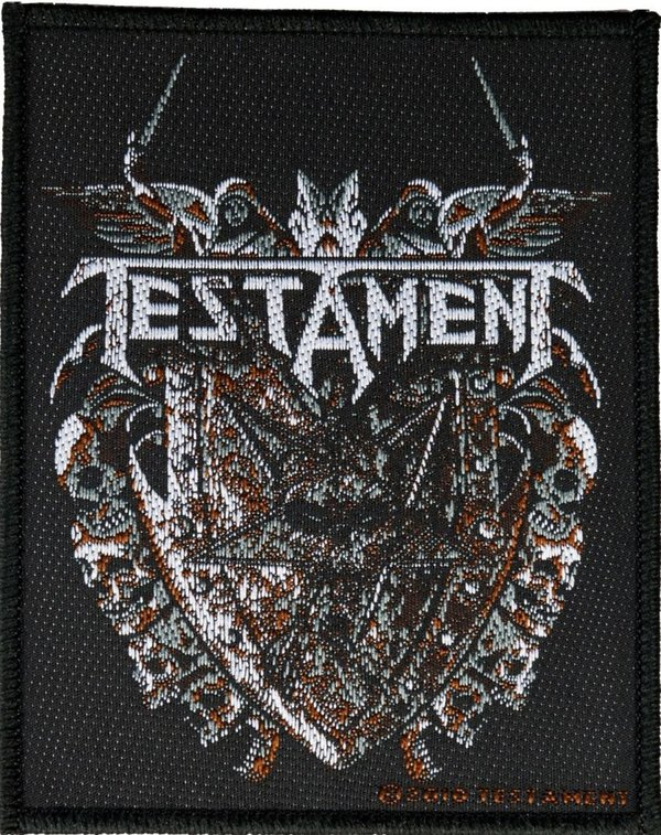Testament Shield Aufnäher Patch