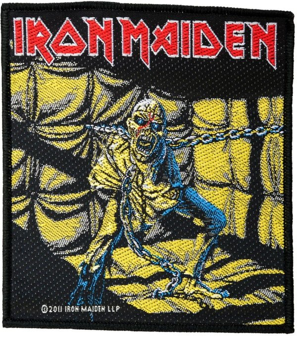 Iron Maiden Piece Of Mind Aufnäher Patch