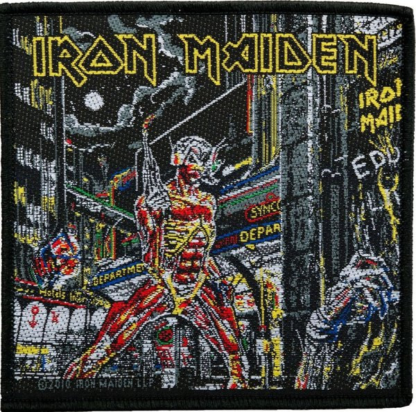 Iron Maiden Somewhere In Time Aufnäher