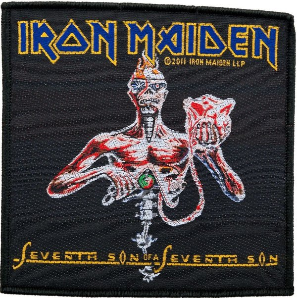 Iron Maiden Seventh Son Aufnäher Patch