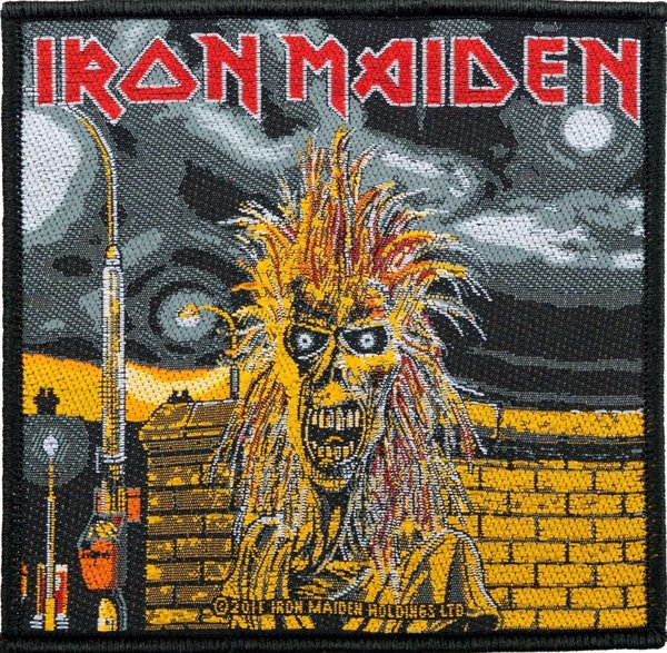 Iron Maiden First Album Aufnäher