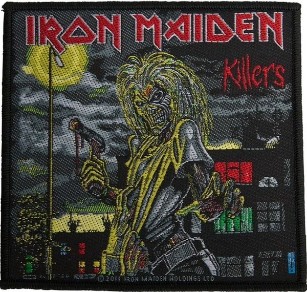 Iron Maiden Killers Aufnäher