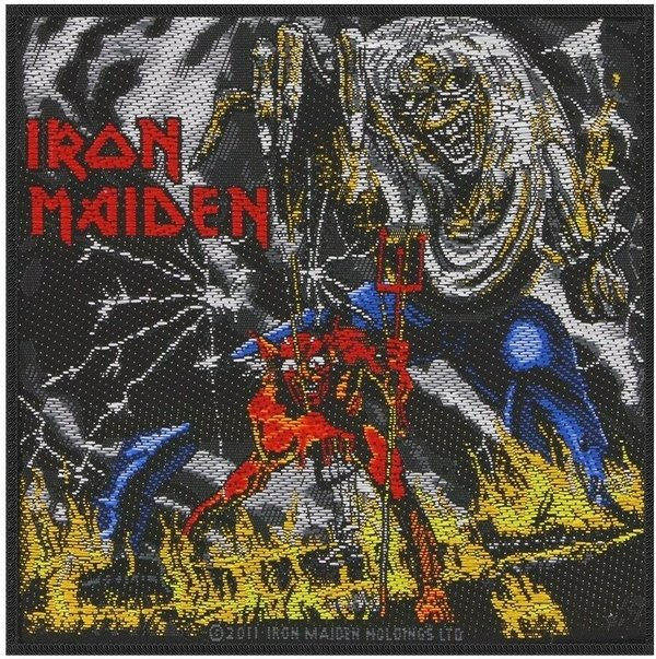 Iron Maiden Number Of The Beast Aufnäher