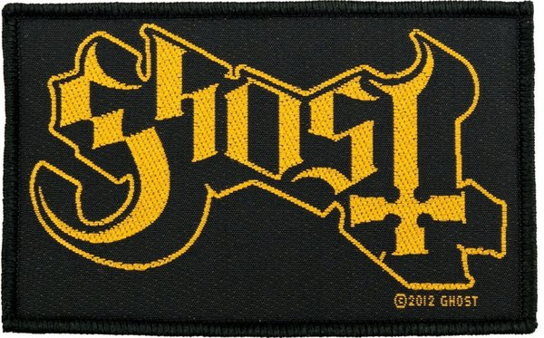 Ghost Logo Aufnäher Patch
