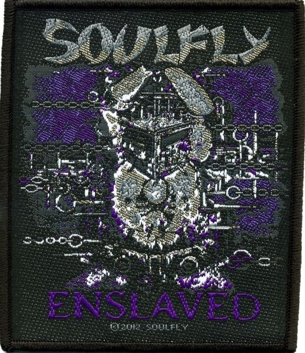 Soulfly Enslaved Aufnäher  Patch