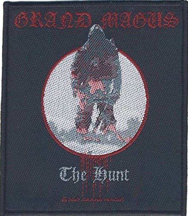 Grand Magus The Hunt Aufnäher  Patch