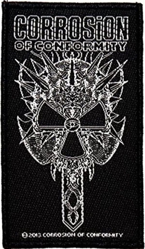 Corrosion of Conformity 2012 Skull Aufnäher  Patch