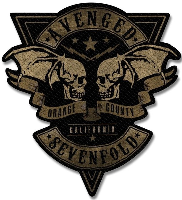 Avenged Sevenfold Orange County Cut Out Aufnäher  Patch