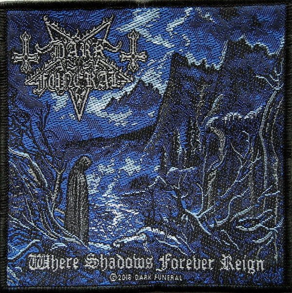 Dark Funeral Where Shadows Forever Reign Aufnäher  Patch