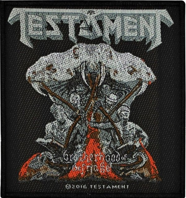 Testament Brotherhood Of The Snake Aufnäher  Patch