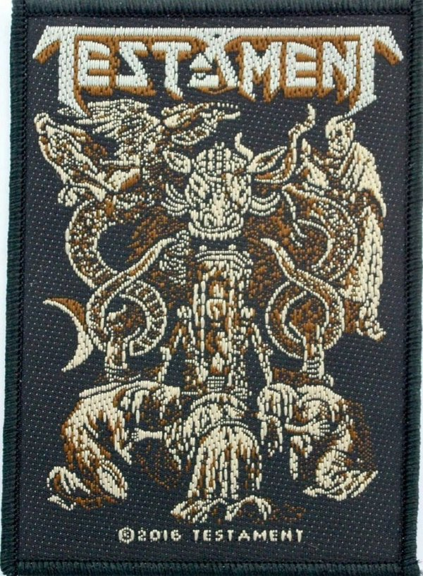 Testament Demonarchy Aufnäher  Patch