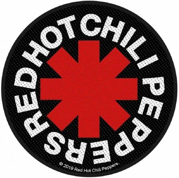 Red Hot Chili Peppers Asterisk Aufnäher