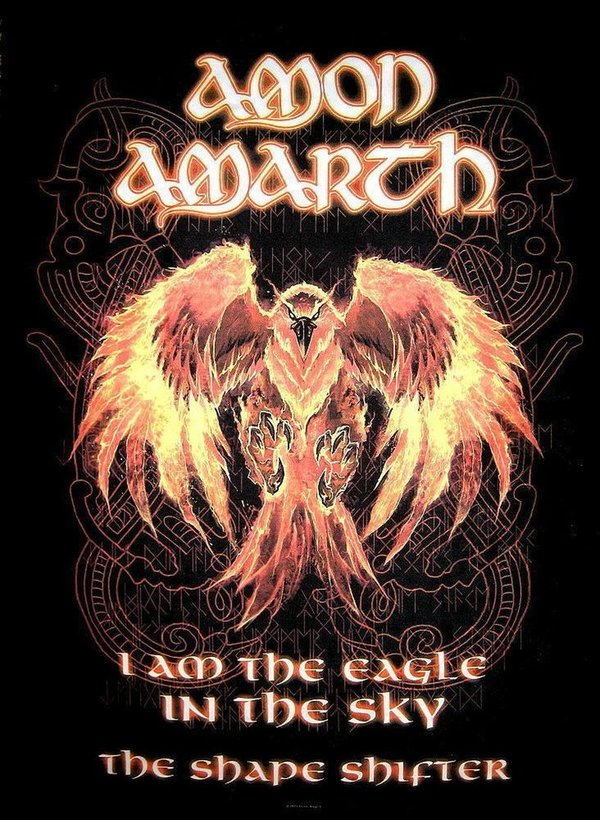 Amon Amarth The Shape Shifter Posterfahne
