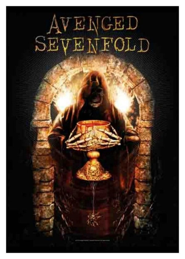 Avenged Sevenfold Golden Arch Tapestry Posterfahne