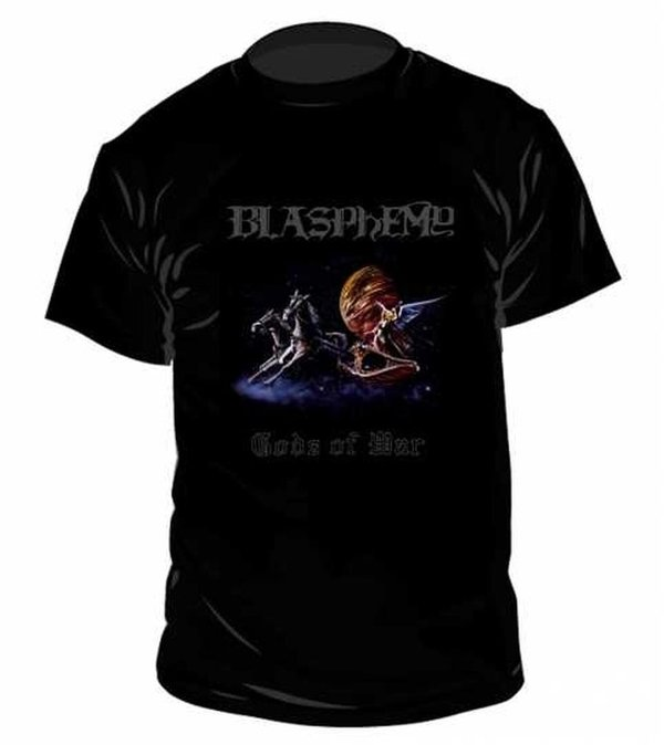 Blasphemy Gods of War T Shirt