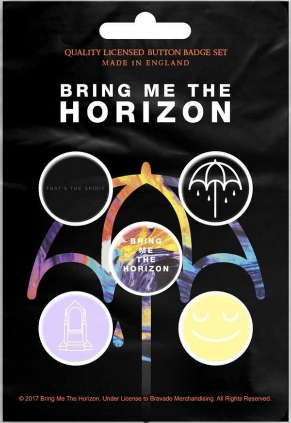 Bring Me The Horizon That's The Spirit Button Pack