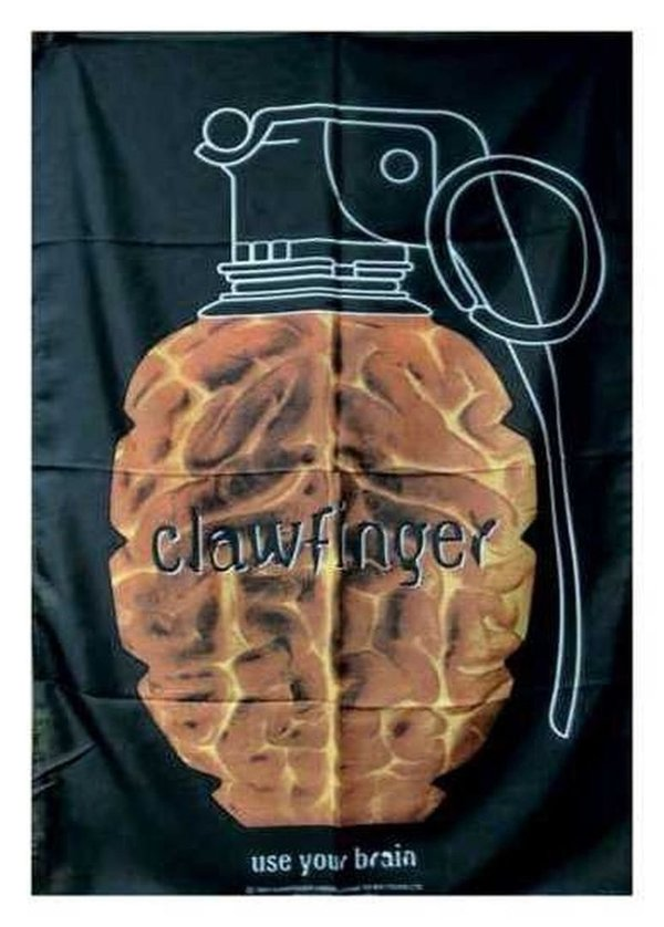 Clawfinger Use your Brain  Posterfahne