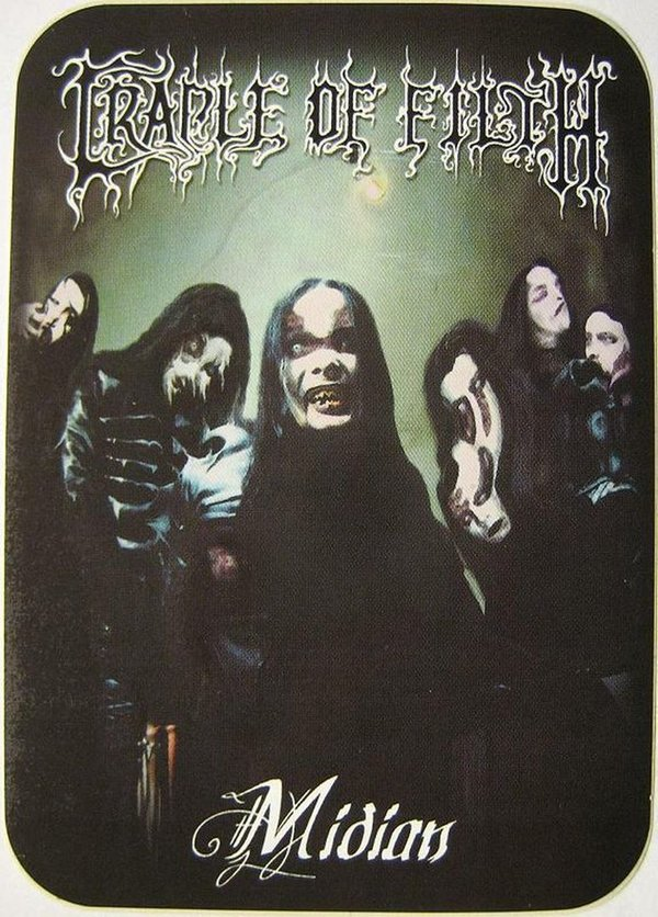 Cradle of Filth Band Aufkleber