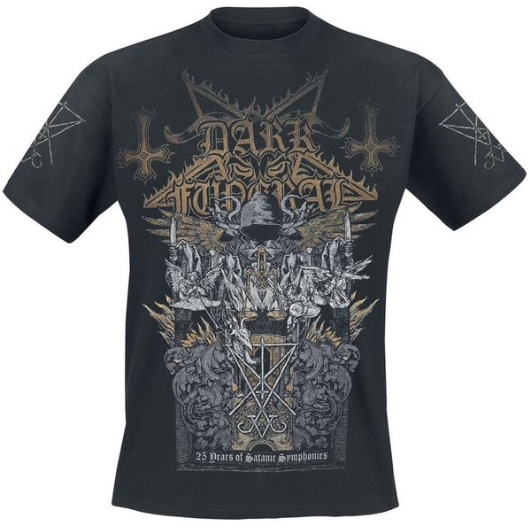 Dark Funeral 25 Years of Satanic Symphonies T-Shirt