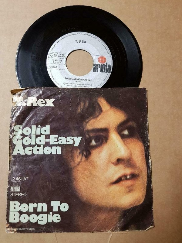 T. Rex Solid Gold Easy Action Vinyl