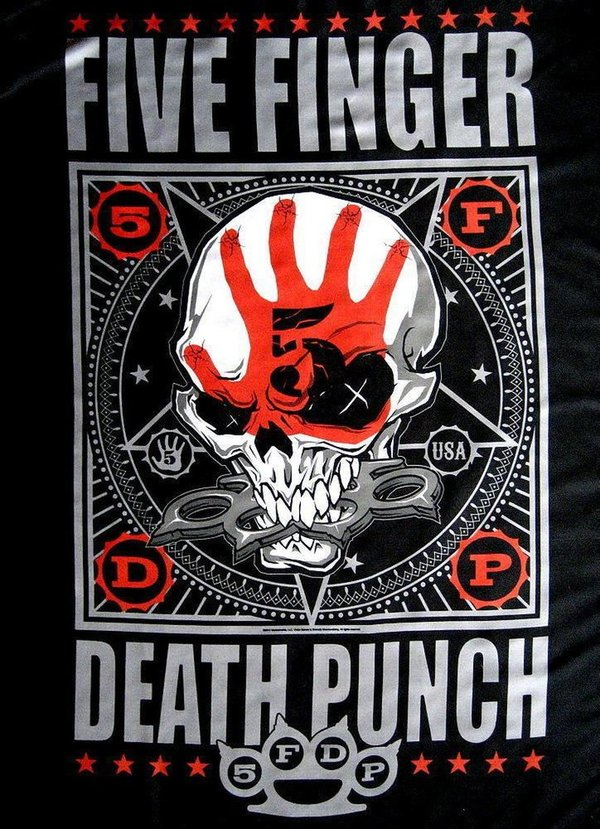 Five Finger Death Punch Bonehead Posterfahne