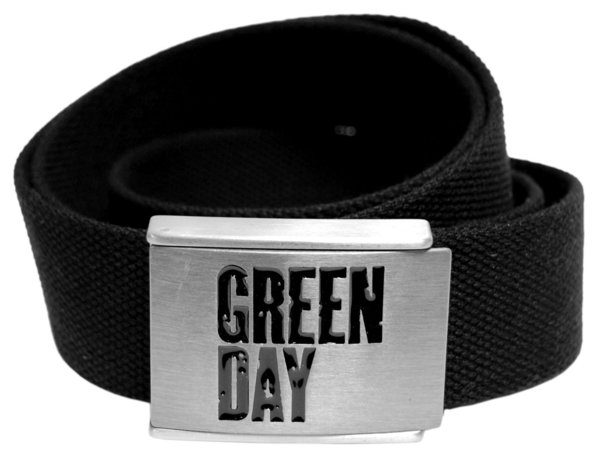 Green Day Logo Merchandise Gürtel