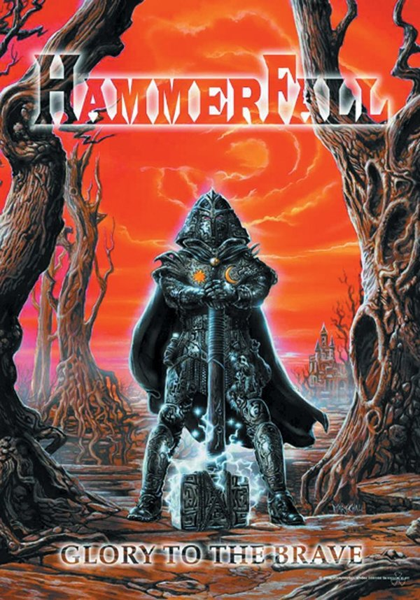 HammerFall Glory to the Brave Posterfahne