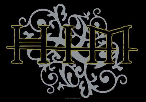 Him Tribal Logo Posterfahne