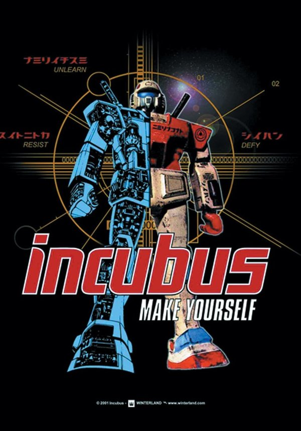 Incubus Make Yourself Posterfahne
