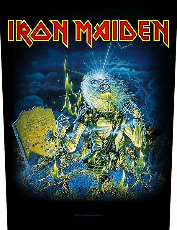 Iron Maiden Live After Death Rückenaufnäher