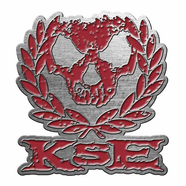 Killswitch Engage Skull Wreath Anstecker