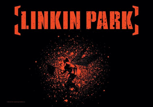 Linkin Park Soldier Hybrid Theory Posterfahne