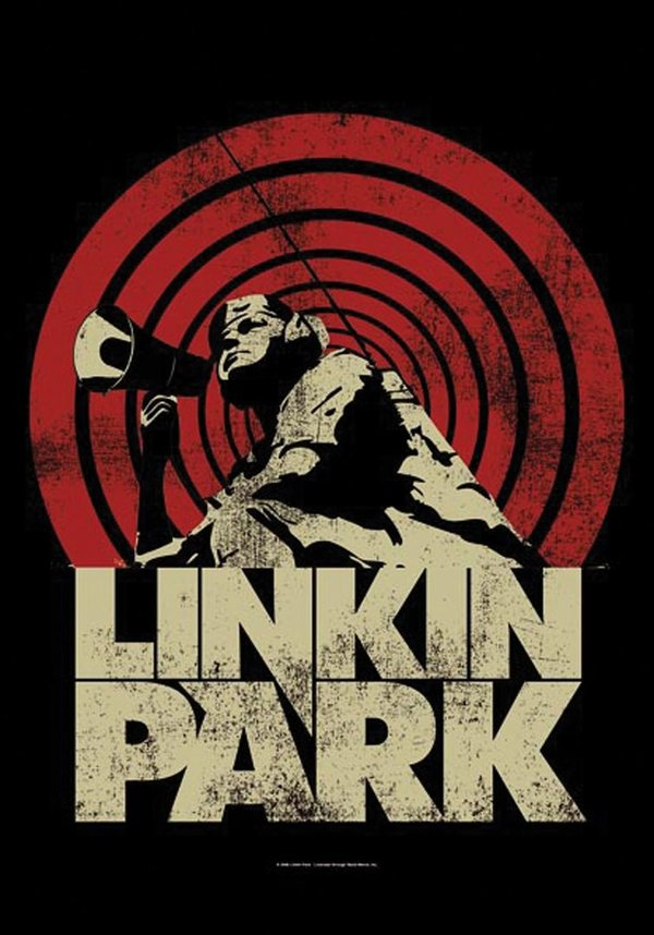 Linkin Park Loud & Clear Posterfahne