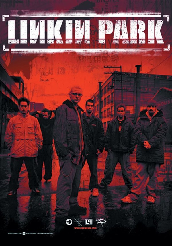Linkin Park Band Posterfahne