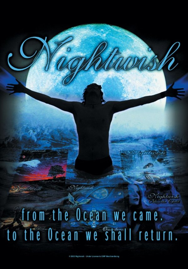 Nightwish From the Ocean Posterfahne