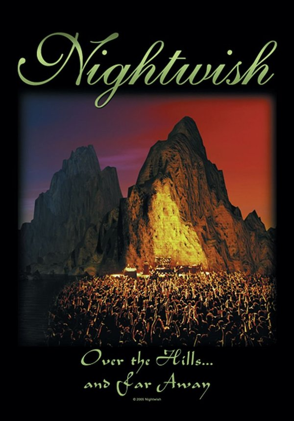 Nightwish Over the Hills and far away Posterfahne